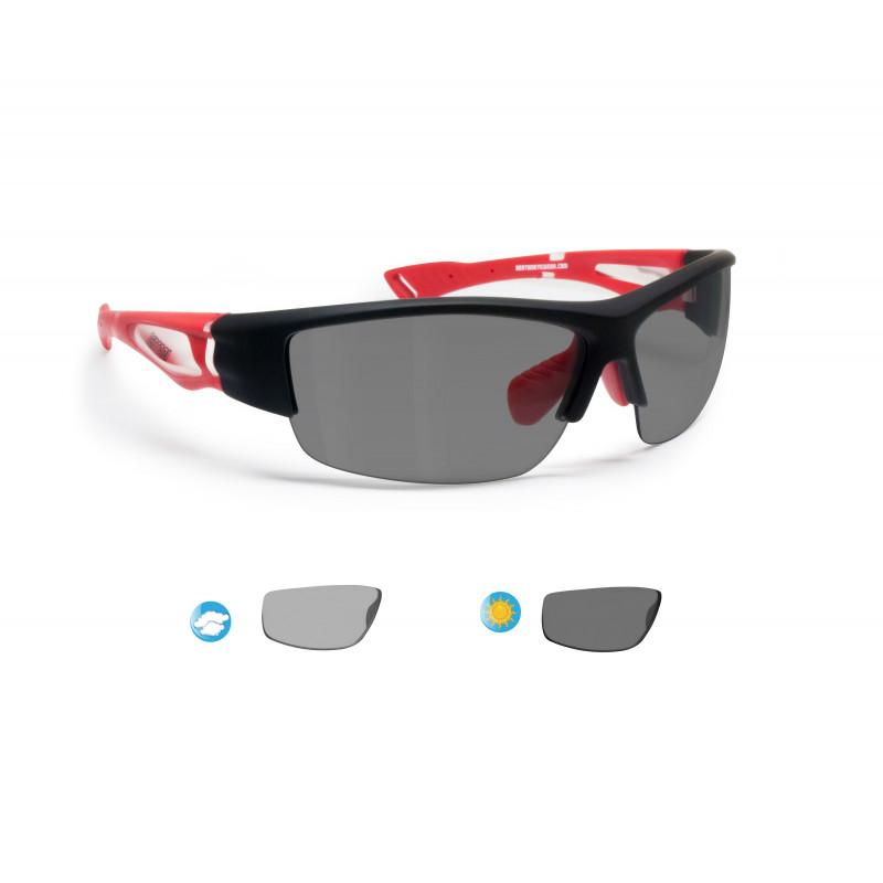 Photochromic Cycling Sunglasses Bertoni P1001FTB