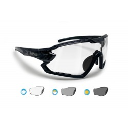 Photochromic Cycling Sunglasses for Prescription QUASAR F01