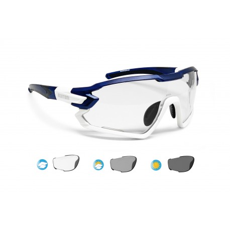 Photochromic Cycling Sunglasses for Prescription QUASAR F02