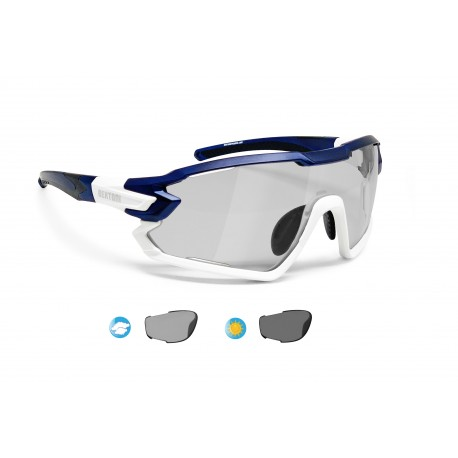 Photochromic Cycling Sunglasses for Prescription Bertoni QUASAR PFT02