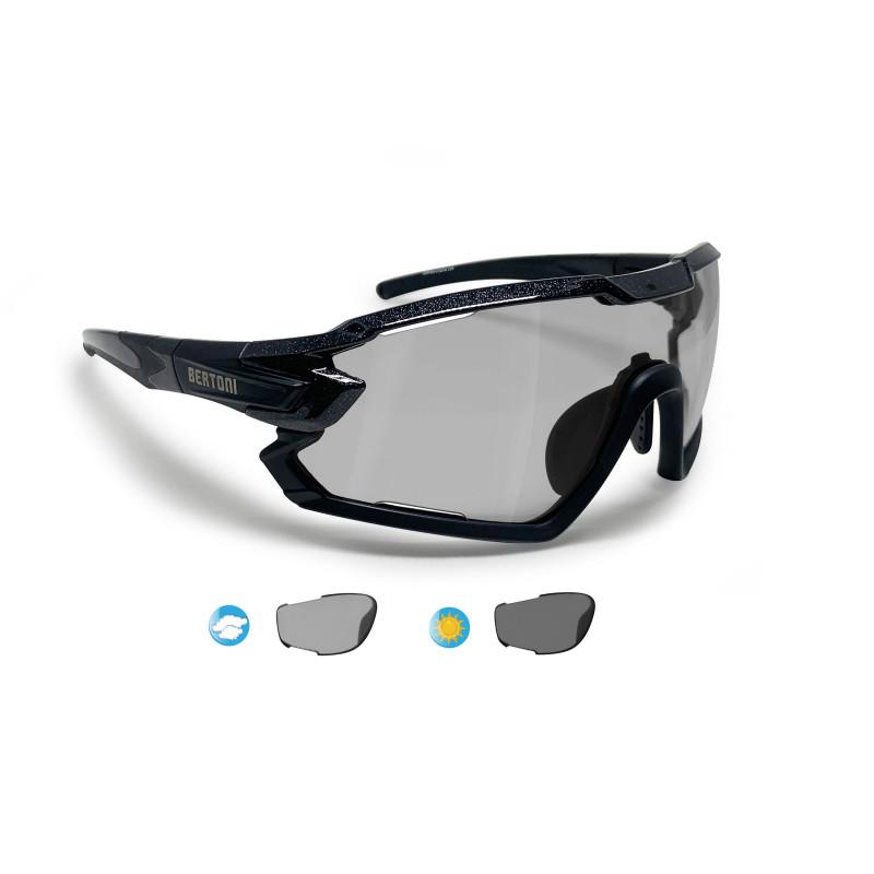 Photochromic Cycling Sunglasses for Prescription QUASAR PFT01