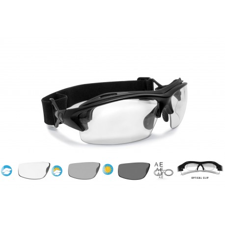 Photocrhomic Cycling Sunglasses F399A