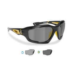 P1000FTC photochromic polarized hydrophobic cycling sunglasses Bertoni