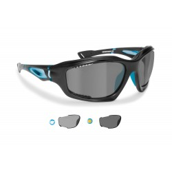 P1000FTD photochromic polarized hydrophobic cycling sunglasses Bertoni