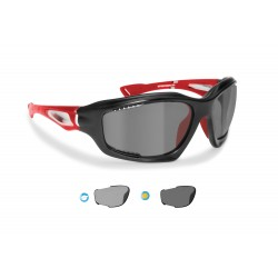 P1000FTB photochromic polarized hydrophobic cycling sunglasses Bertoni