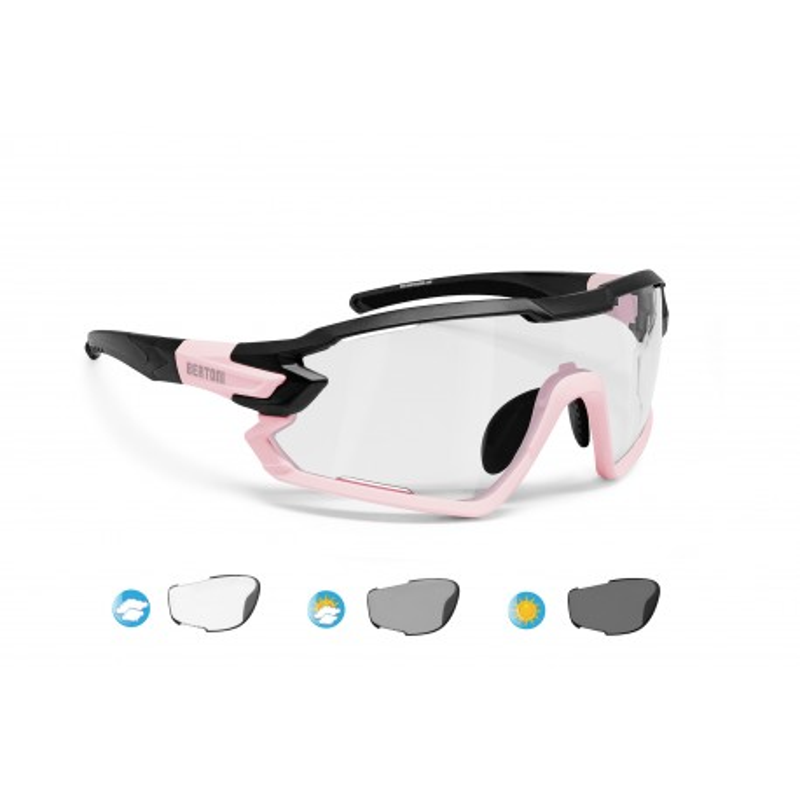 Photochromic Cycling Sunglasses for Prescription QUASAR F02