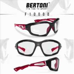 F1000B Photochrome Antibeschlag Fahrradbrillen