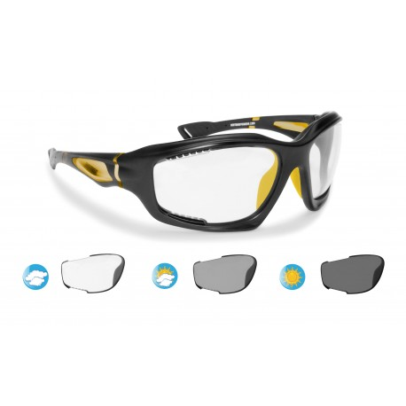 Cycling Photochromic Sunglasses Antifog F1000C