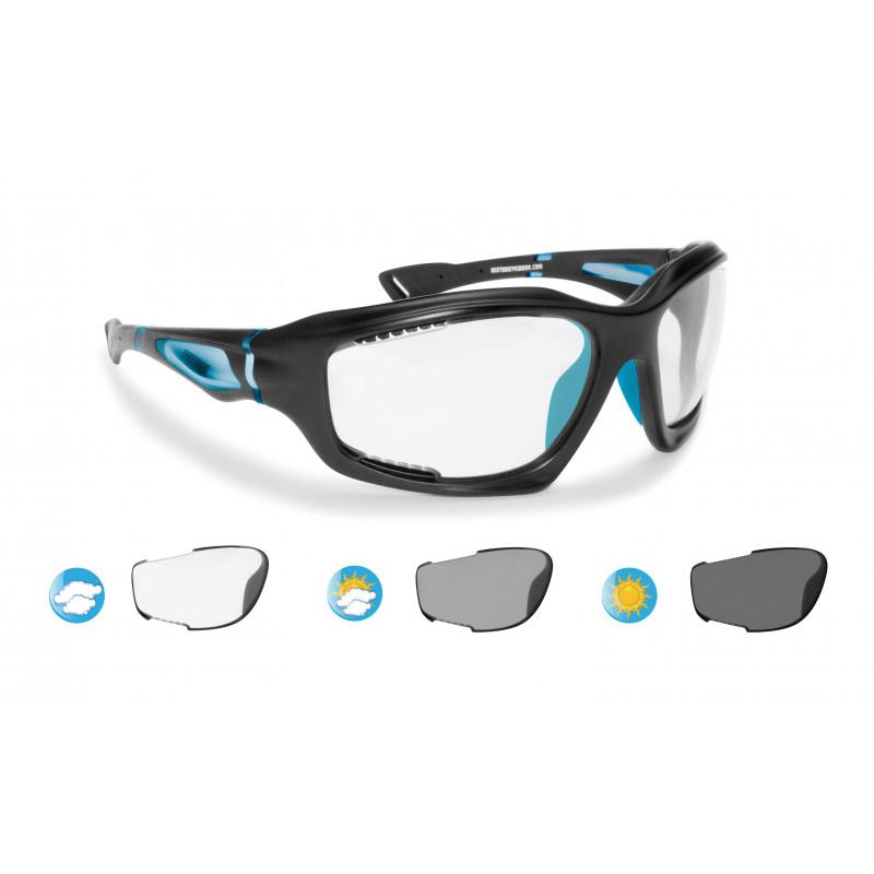 F1000D Photochrome Antibeschlag Fahrradbrillen