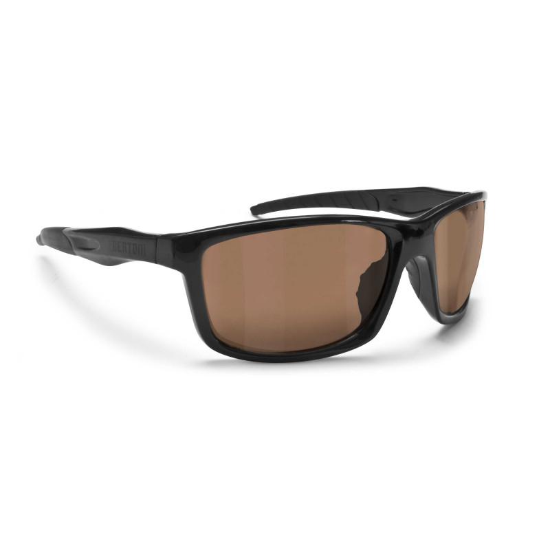 Bertoni P676FTA, lunettes de soleil photochromique Noir Teinté