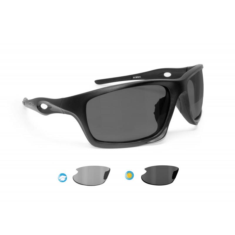 Photochromic Polarized Cycling Sunglasses OMEGA P01FT