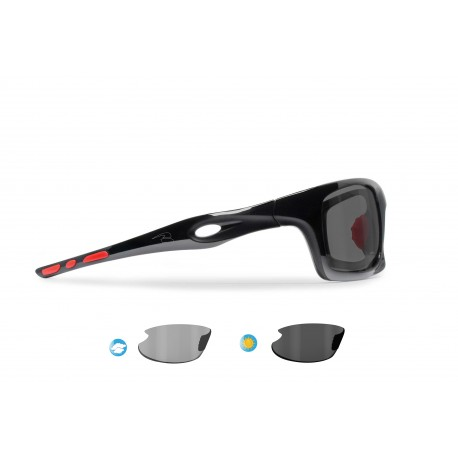 Photochromic Polarized Cycling Sunglasses OMEGA P02FT