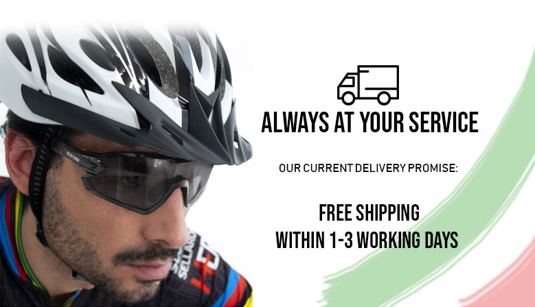 Our forwarders do not stop! Delivery Promise 1-3 days!