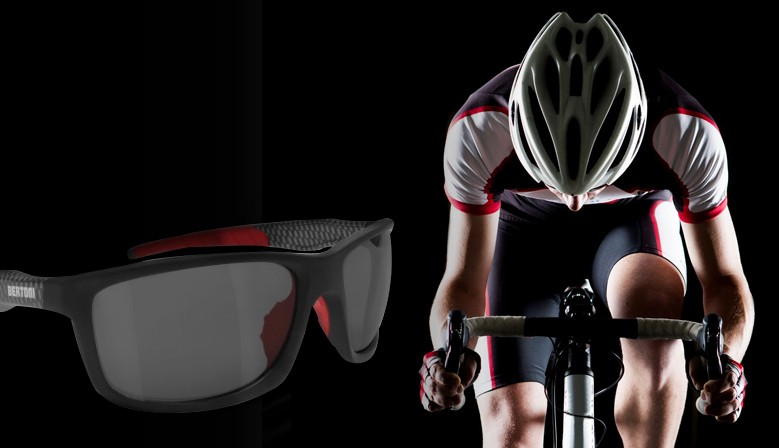 Photochromic Cycling and Running Sunglasses ALIEN F03
